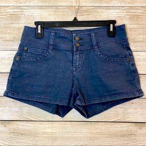 Union Bay Short Shorts Blue Size 7